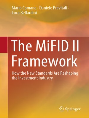 cover image of The MiFID II Framework