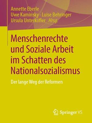 cover image of Menschenrechte und Soziale Arbeit im Schatten des Nationalsozialismus