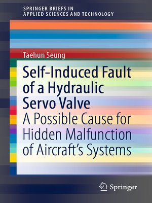 cover image of Self-Induced Fault of a Hydraulic Servo Valve