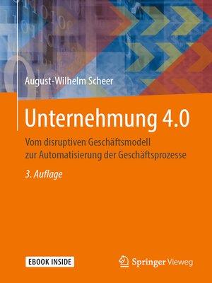 cover image of Unternehmung 4.0