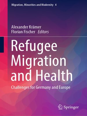 cover image of Refugee Migration and Health