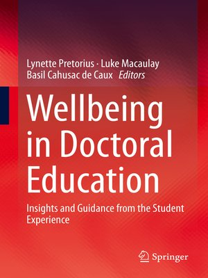 cover image of Wellbeing in Doctoral Education