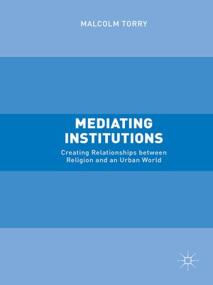 cover image of Mediating Institutions