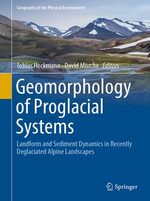 cover image of Geomorphology of Proglacial Systems