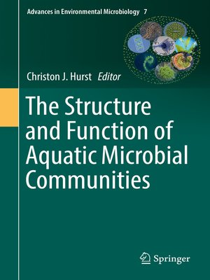 cover image of The Structure and Function of Aquatic Microbial Communities