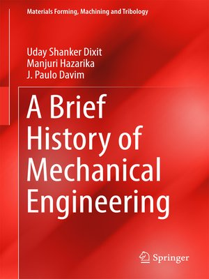 cover image of A Brief History of Mechanical Engineering