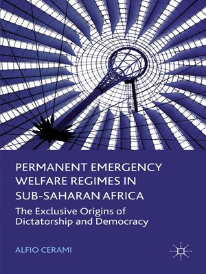 cover image of Permanent Emergency Welfare Regimes in Sub-Saharan Africa