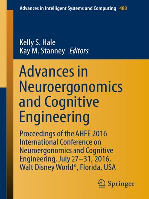 cover image of Advances in Neuroergonomics and Cognitive Engineering