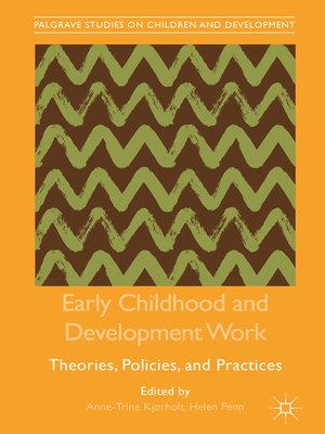 cover image of Early Childhood and Development Work