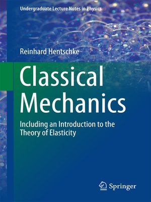 cover image of Classical Mechanics