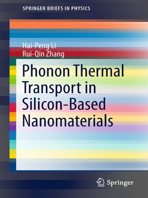 cover image of Phonon Thermal Transport in Silicon-Based Nanomaterials