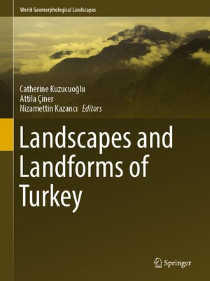 cover image of Landscapes and Landforms of Turkey