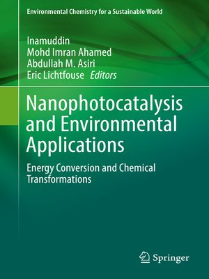 cover image of Nanophotocatalysis and Environmental Applications