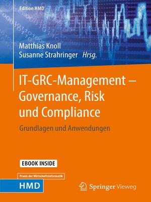 cover image of IT-GRC-Management – Governance, Risk und Compliance