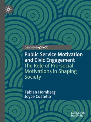 cover image of Public Service Motivation and Civic Engagement