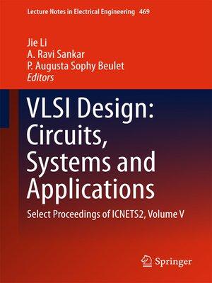cover image of VLSI Design