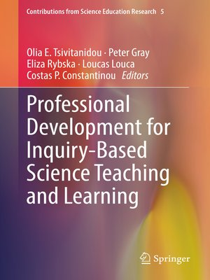 cover image of Professional Development for Inquiry-Based Science Teaching and Learning