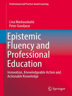 cover image of Epistemic Fluency and Professional Education