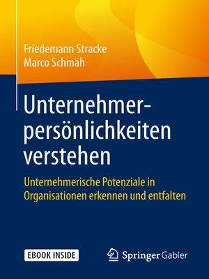 cover image of Unternehmerpersönlichkeiten verstehen