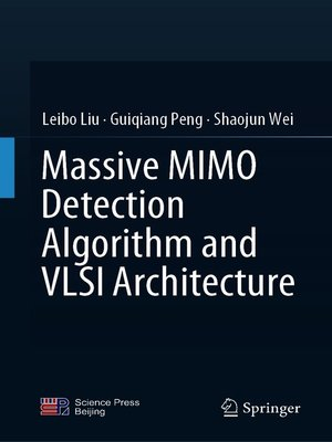 cover image of Massive MIMO Detection Algorithm and VLSI Architecture