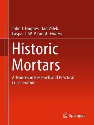 cover image of Historic Mortars