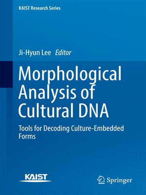 cover image of Morphological Analysis of Cultural DNA