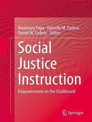 cover image of Social Justice Instruction