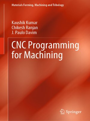 cover image of CNC Programming for Machining