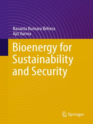 cover image of Bioenergy for Sustainability and Security