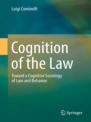 cover image of Cognition of the Law