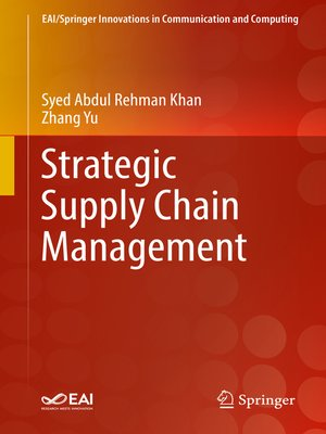 cover image of Strategic Supply Chain Management