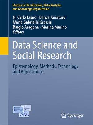 cover image of Data Science and Social Research