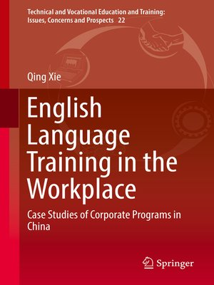 cover image of English Language Training in the Workplace
