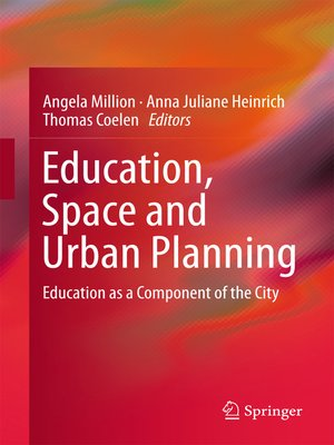 cover image of Education, Space and Urban Planning