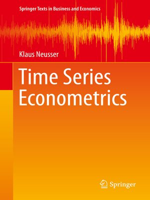 cover image of Time Series Econometrics