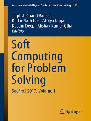 cover image of Soft Computing for Problem Solving