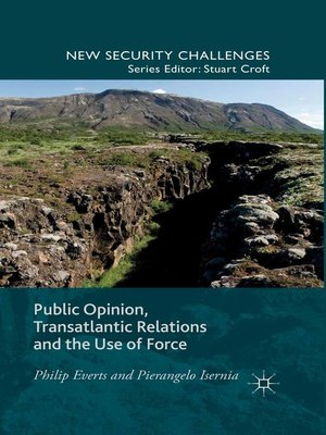 cover image of Public Opinion, Transatlantic Relations and the Use of Force