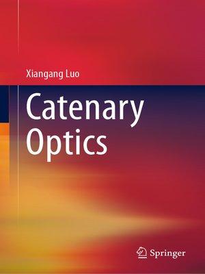 cover image of Catenary Optics