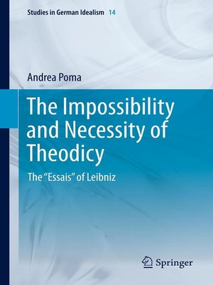cover image of The Impossibility and Necessity of Theodicy