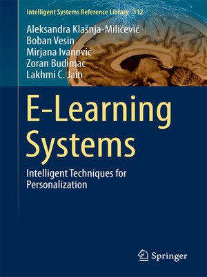 cover image of E-Learning Systems