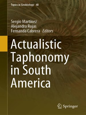 cover image of Actualistic Taphonomy in South America