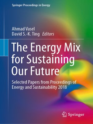 cover image of The Energy Mix for Sustaining Our Future