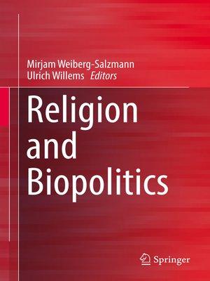cover image of Religion and Biopolitics