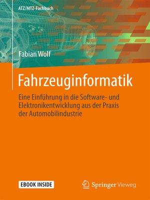 cover image of Fahrzeuginformatik