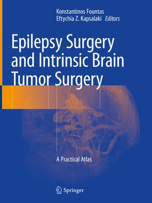 cover image of Epilepsy Surgery and Intrinsic Brain Tumor Surgery