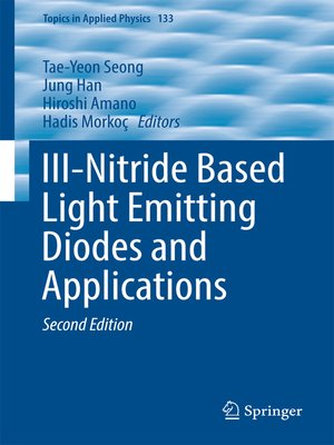 cover image of III-Nitride Based Light Emitting Diodes and Applications
