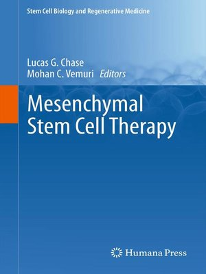 cover image of Mesenchymal Stem Cell Therapy