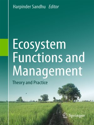 cover image of Ecosystem Functions and Management