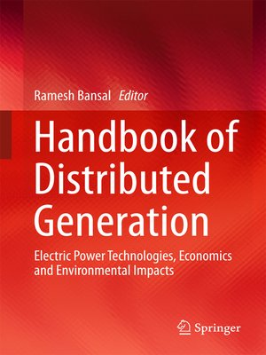 cover image of Handbook of Distributed Generation