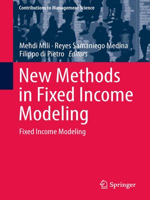 cover image of New Methods in Fixed Income Modeling